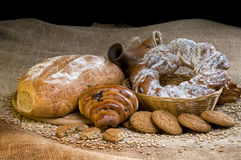 Assortment of baked goods Royalty Free Stock Photography
