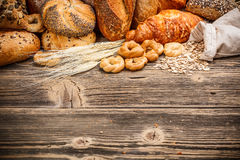 Assortment of baked goods Stock Images