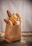 Assortment of baked goods Stock Image