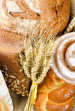 An assortment of bakery fresh bread Stock Image