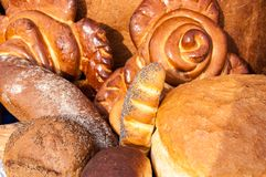 Assortment of bakery products Stock Image