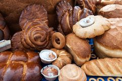 Assortment of bakery products Royalty Free Stock Photography