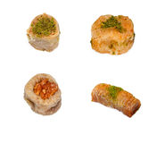 Assortment of baklava Stock Photo