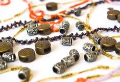 Assortment of beads Stock Image
