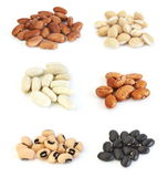 Assortment of beans Stock Photo