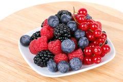 Assortment of  berries Stock Photo