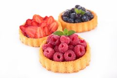 Assortment of berry cake Royalty Free Stock Photography