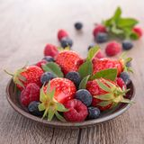 Assortment of berry Royalty Free Stock Photography