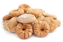 Assortment of biscuits typical of Andalusia, Spain Royalty Free Stock Photos