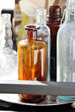 Assortment of Bottles Stock Photography