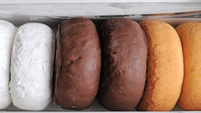 Assortment of Boxed Donuts Royalty Free Stock Photography