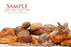 Assortment of bread Stock Images
