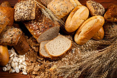 Assortment of bread royalty free stock image