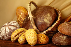 Assortment of bread Royalty Free Stock Photos