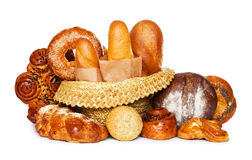 Assortment of bread Stock Image