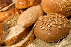 Assortment of bread Royalty Free Stock Photo