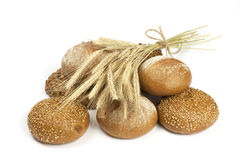 Assortment bread and buns Royalty Free Stock Photography