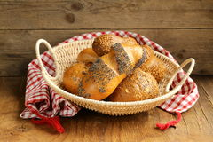 Assortment bread Stock Photos