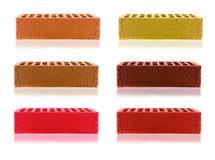 Assortment of bricks. Stock Photography