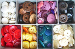 Assortment of Buttons royalty free stock photos