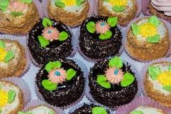 Assortment of cake Royalty Free Stock Photos