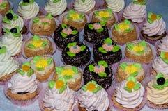 Assortment of cake Stock Photos
