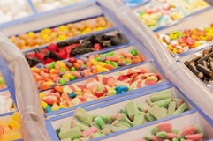 Assortment of candies Stock Image