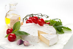Assortment of cheese Royalty Free Stock Photos