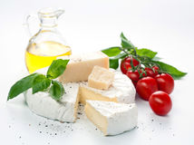 Assortment of cheese Royalty Free Stock Photo
