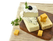 Assortment of Cheese Stock Photography