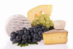 Assortment of cheese Royalty Free Stock Images