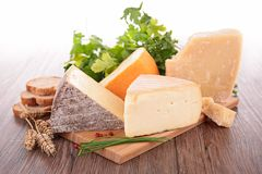 Assortment of cheese Royalty Free Stock Photography
