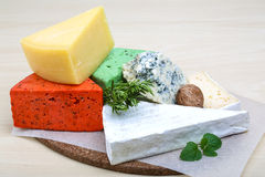 Assortment cheese Stock Photography