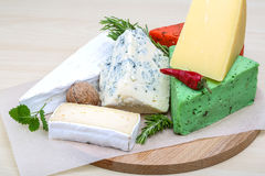 Assortment cheese Royalty Free Stock Image