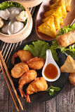 Assortment of chinese food Royalty Free Stock Images