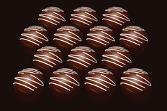 Assortment of chocolates Royalty Free Stock Photo