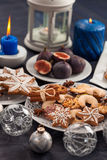 Assortment of Christmas cookies Royalty Free Stock Photo