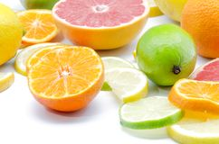 Assortment of citrus Royalty Free Stock Photography