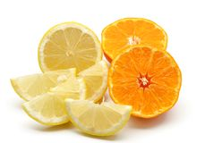 Assortment of citrus Stock Images
