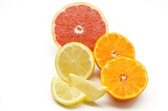 Assortment of citrus Royalty Free Stock Photo