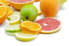 Assortment of citrus Royalty Free Stock Images