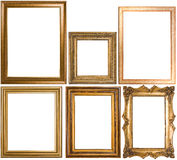 An assortment of classic picture frames stock photo
