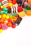 Assortment of colorful candy Royalty Free Stock Photo