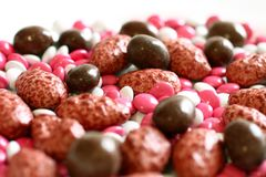 Assortment of colorful candy Royalty Free Stock Image
