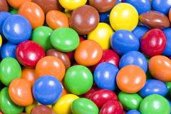 Assortment of Colorful Chocolate Candies Stock Image