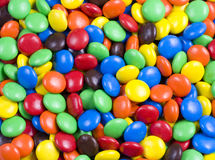 Assortment of Colorful Chocolate Candies Stock Photography