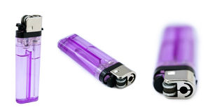 Purple Lighter Bundle Royalty Free Stock Photo