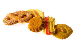 Assortment cookies Stock Images