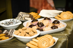 Assortment of cookies Stock Photography