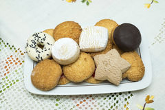 Assortment of cookies Stock Photos